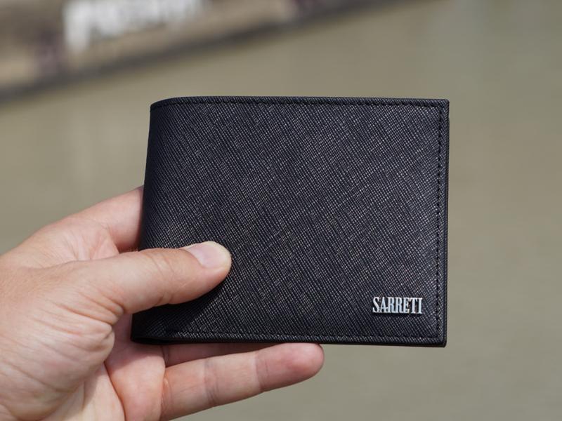 Premium Saffiano Wallet Portfolio Image 1